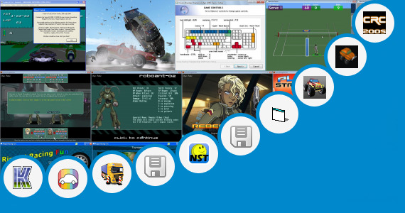 Software collection for 3d Train Racing Java Game