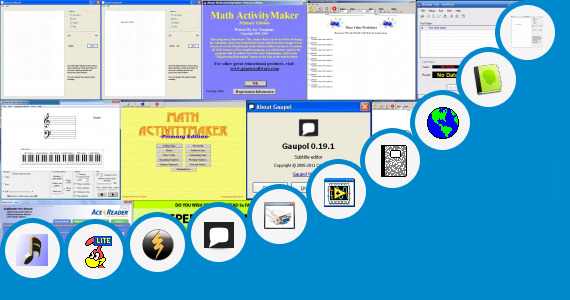 Software collection for Probe Reading Comprehension Tests