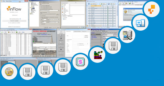 Software collection for Sample Inventory System Database