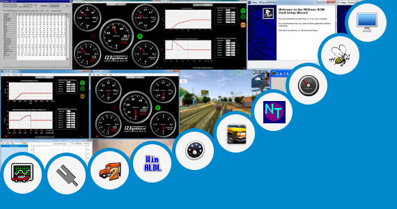 Software collection for 3d Car Tuning Program