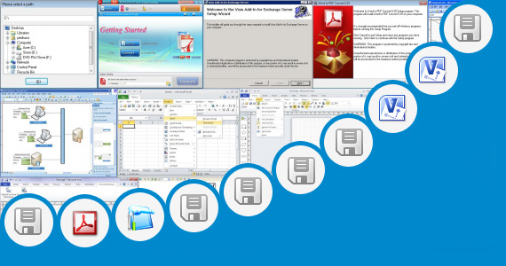 Software collection for Microsoft Visio 2010 Portable