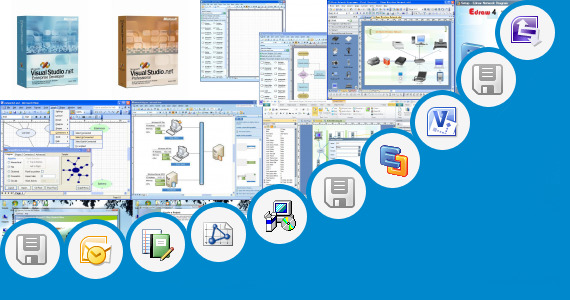 Software collection for Microsoft Visio Er Diagram Template