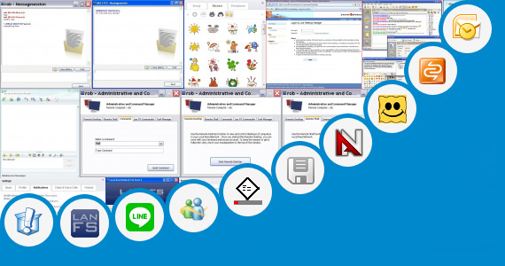 Software collection for Add Communicator 2007 Emoticons