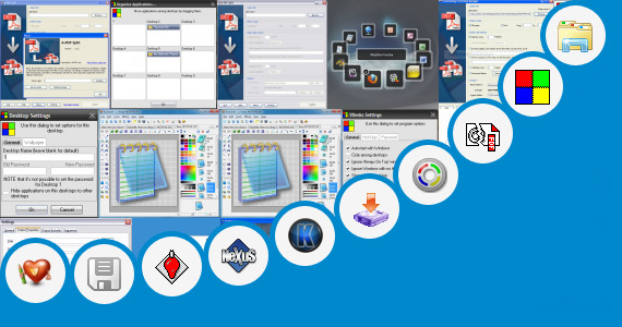 Software collection for Drag Racing Windows 7 Desktop Theme