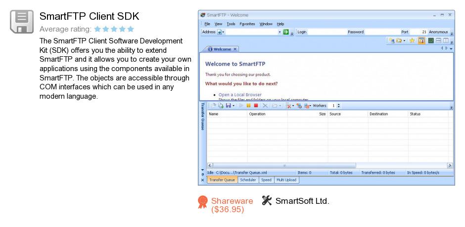 SmartFTP Client SDK