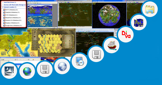 Software collection for Hd Map Of India With River