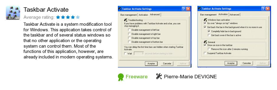 Taskbar Activate