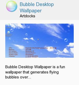 Bubble Desktop Wallpaper