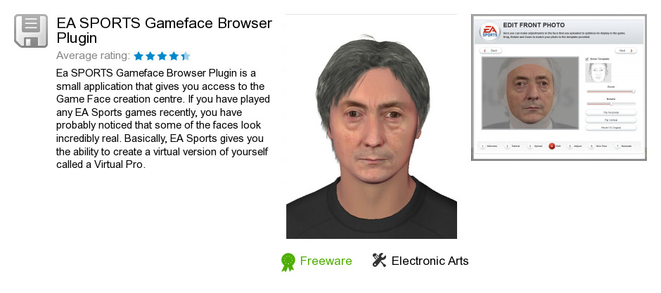 EA SPORTS Gameface Browser Plugin