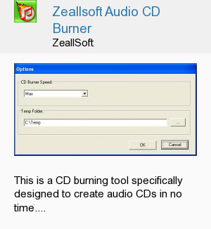 Zeallsoft Audio CD Burner