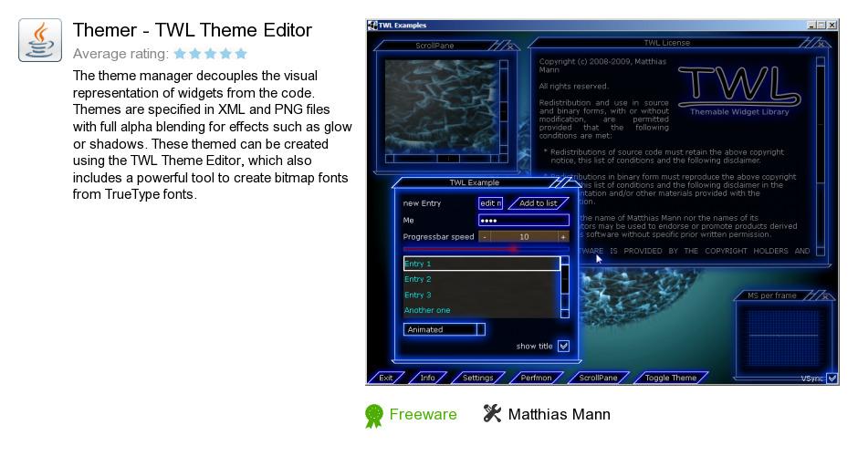 Themer - TWL Theme Editor