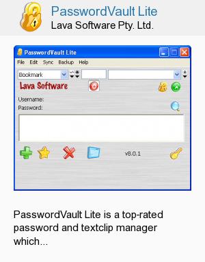 PasswordVault Lite