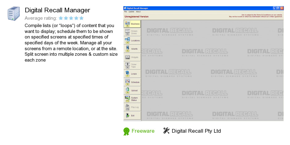 Digital Recall Manager