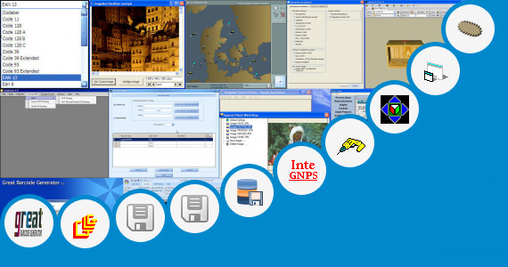 Software collection for Qr Code Generator Dxf