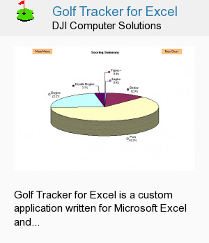 Golf Tracker for Excel