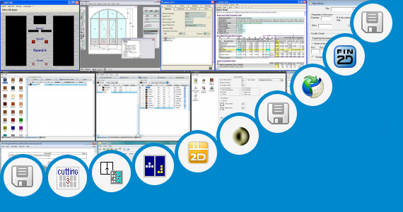 Software collection for Glass Fin Calculation