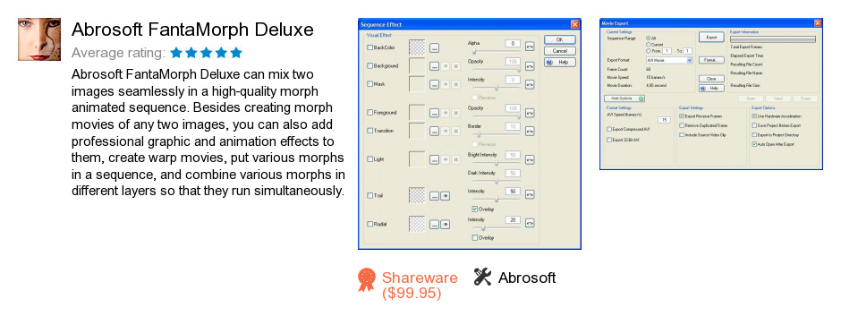 Abrosoft FantaMorph Deluxe