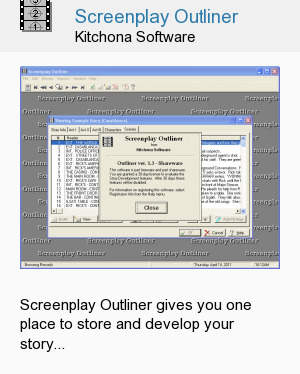 Screenplay Outliner
