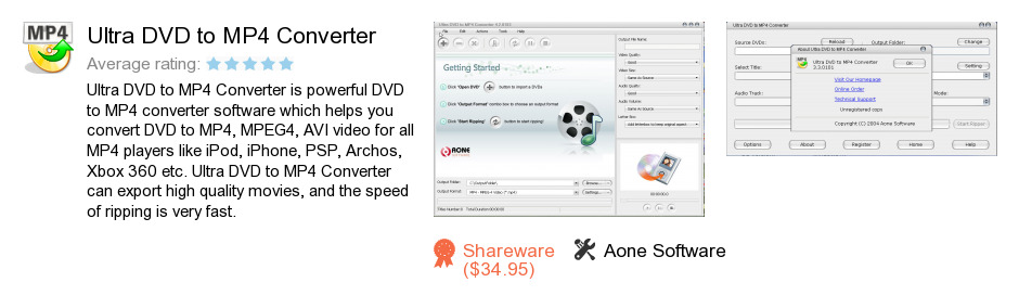 Ultra DVD to MP4 Converter