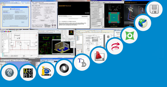 Software collection for Projector Symbol Cad