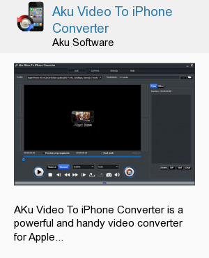 Aku Video To iPhone Converter