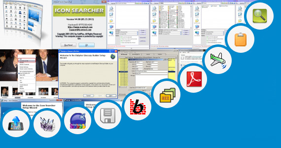 Software collection for 32x32 Icons Excel Database