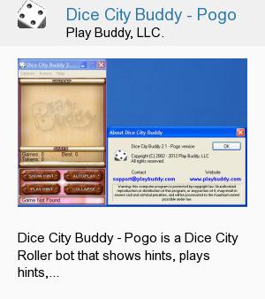 Dice City Buddy - Pogo