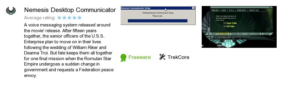 Nemesis Desktop Communicator