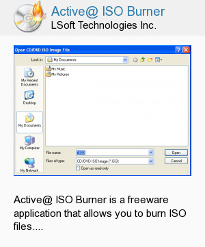 Active@ ISO Burner