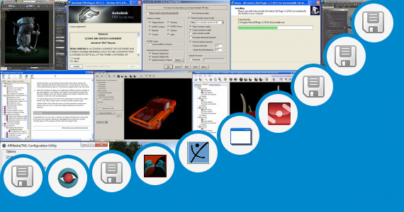 Software collection for Rpc Plugin 3ds Max 2010