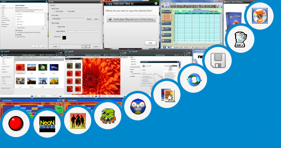 Software collection for Dell Music Stage