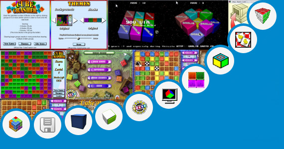 Software collection for 3d Cube Hopper Game Free