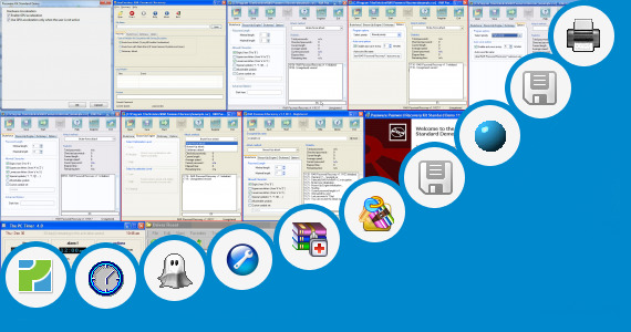 Software collection for Reset Canon Service Tool V2000