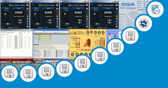 Software collection for Vst Plugin  Sonar Le