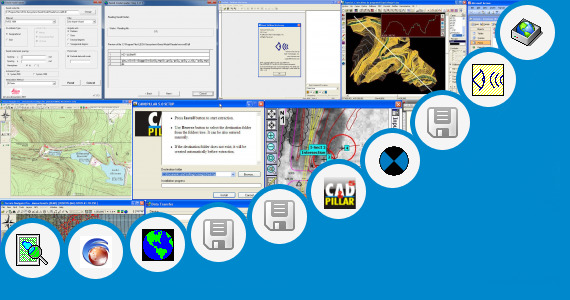 Software collection for Leica Survey Office