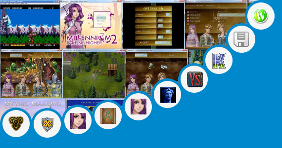 Software collection for Game Mythic Saga Free