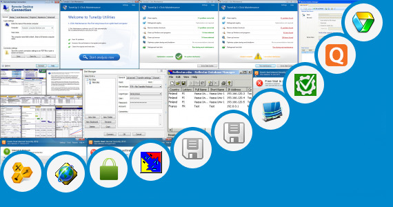 Software collection for Quick Heal Update Manager 2013