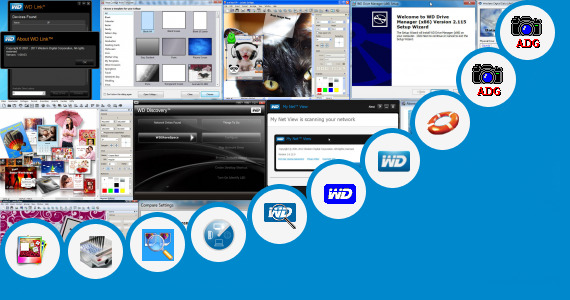 Software collection for Western Digital Acronis Align Tool