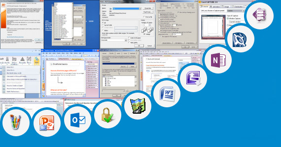 Software collection for Microsoft Paint 2007