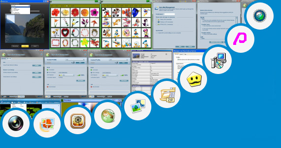 Software collection for Acer Photo Editing Software