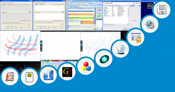 Software collection for Pin 2 Style Works Universal Serial