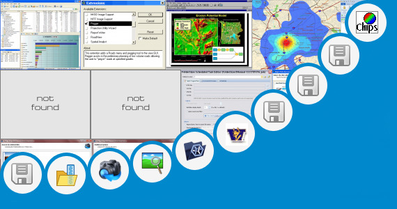 Software collection for Image Analysis Extension Arcview