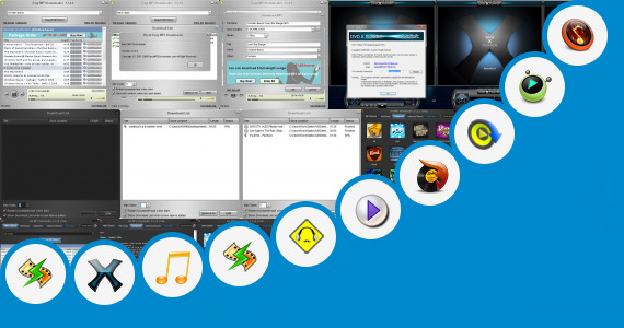 Software collection for Hot Jot Mp3 Player