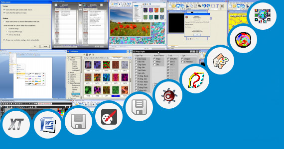 Software collection for Emc Style Works F R