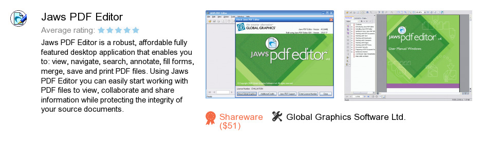 Jaws PDF Editor