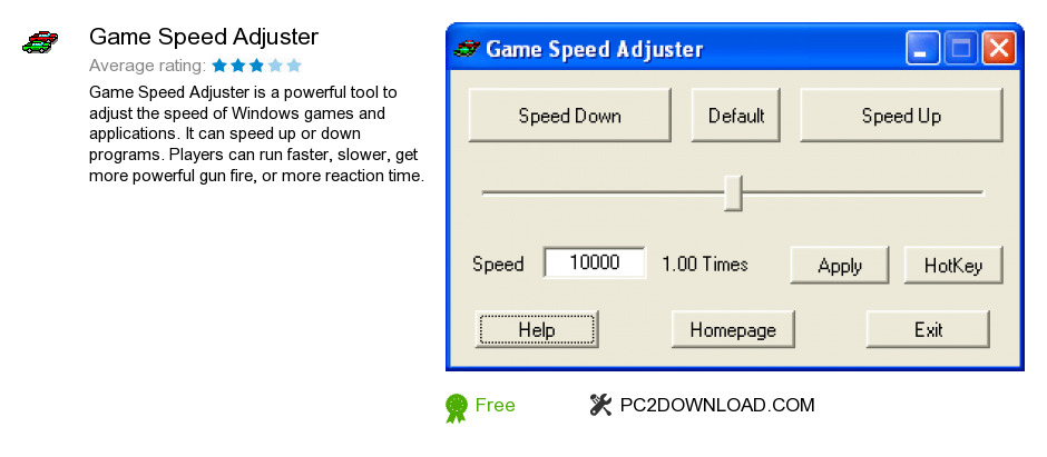 Game Speed Adjuster