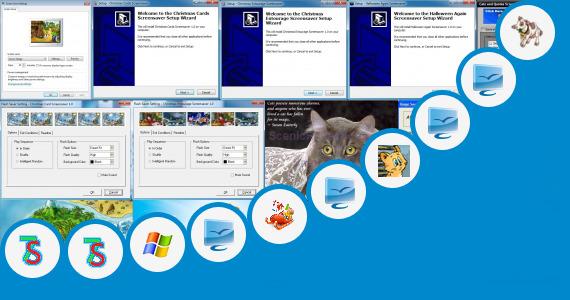 Free Fish Screensaver For Cats Sunny Village Screensaver