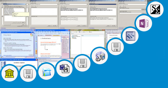 Software collection for Modul Gambar Icon Microsoft Word