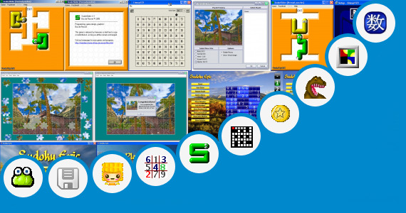 Software collection for Auto Solve Puzzle 4x4