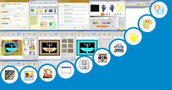 Software collection for 3d Type Effects Software